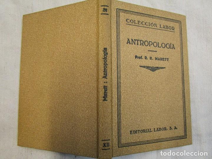 ANTROPOLOGÍA - MERETT - COL LABOR Nº31 1931 EXCELENTE CORREO 2.40€ + INFO (Libros Antiguos, Raros y Curiosos - Ciencias, Manuales y Oficios - Otros)
