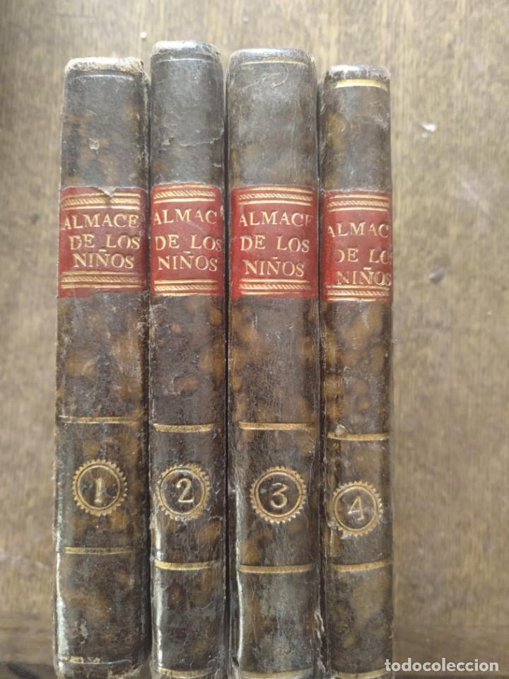 ALMACÉN DE LOS NIÑOS.4 TOMOS. MADRID 1715 (Libros Antiguos, Raros y Curiosos - Pensamiento - Otros)