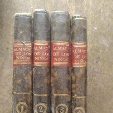 Libri antichi: ALMACÉN DE LOS NIÑOS.4 TOMOS. MADRID 1715. Lote 209848352