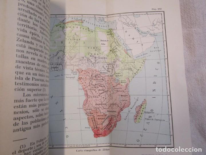 Libros antiguos: ETNOGRAFIA ESTUDIO DE LAS RAZAS - HABERLANDT - COL LABOR Nº23/24 1929 EXCELENTE + INFO - Foto 6 - 209878813