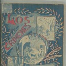 Livros antigos: 4008.- CARLISMO - LOS CRIMENES DEL LIBERALISMO POR JUAN M.ROMA-BARCELONA 1918. Lote 209935113