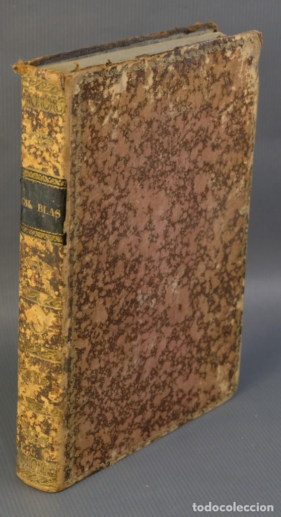 Libros antiguos: Historia de Gil Blas de Santillana-Le Sage-Imprenta Don Antonio Berges y compañía 1840 - Foto 2 - 209971305