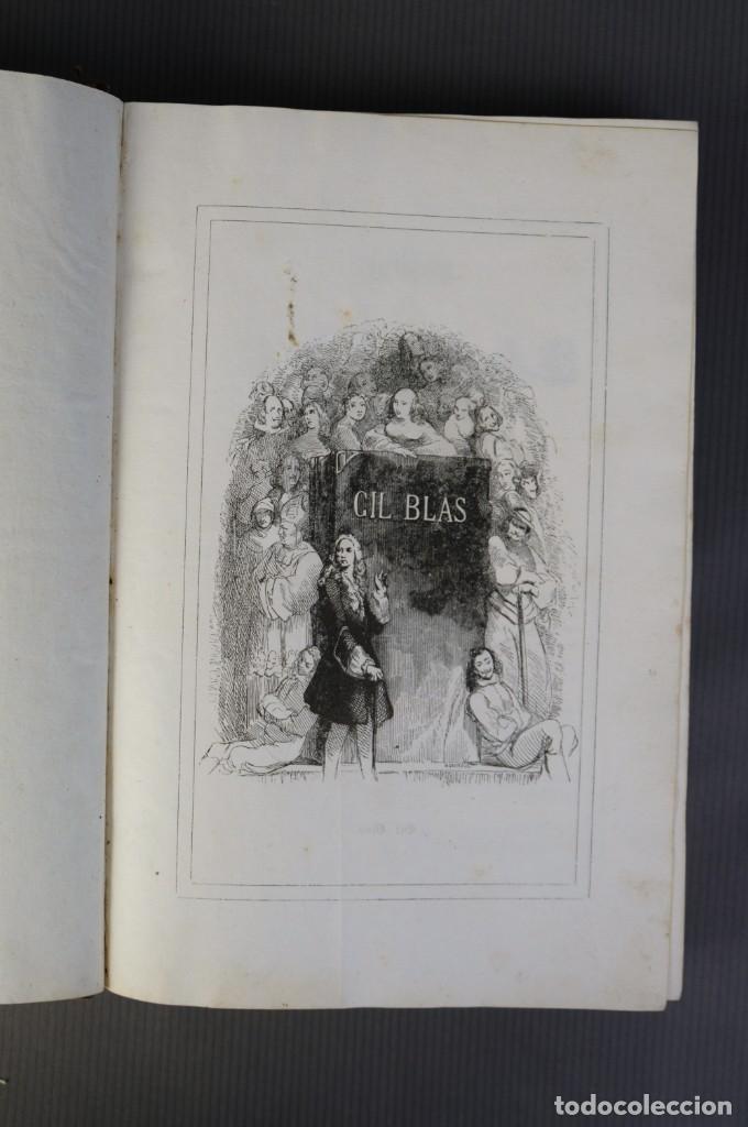 Libros antiguos: Historia de Gil Blas de Santillana-Le Sage-Imprenta Don Antonio Berges y compañía 1840 - Foto 7 - 209971305