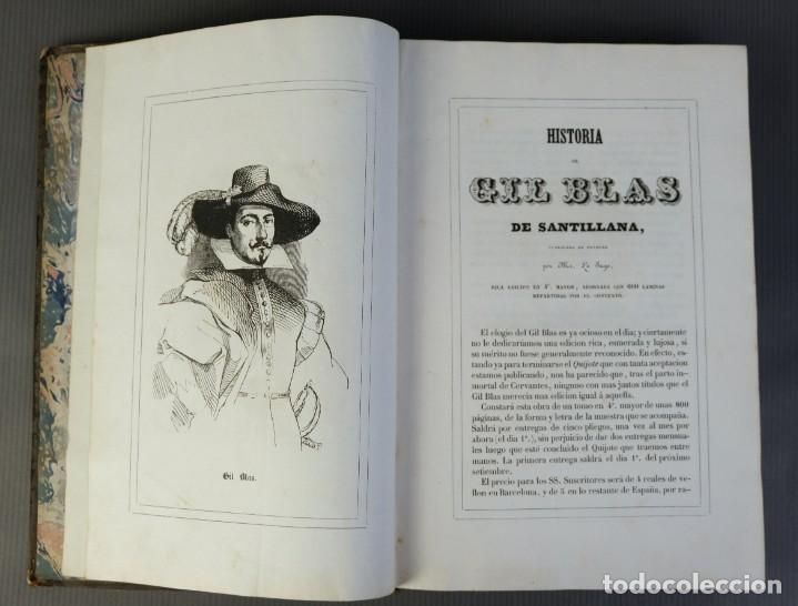 Libros antiguos: Historia de Gil Blas de Santillana-Le Sage-Imprenta Don Antonio Berges y compañía 1840 - Foto 8 - 209971305