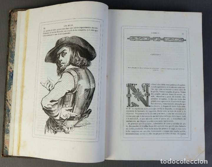 Libros antiguos: Historia de Gil Blas de Santillana-Le Sage-Imprenta Don Antonio Berges y compañía 1840 - Foto 9 - 209971305
