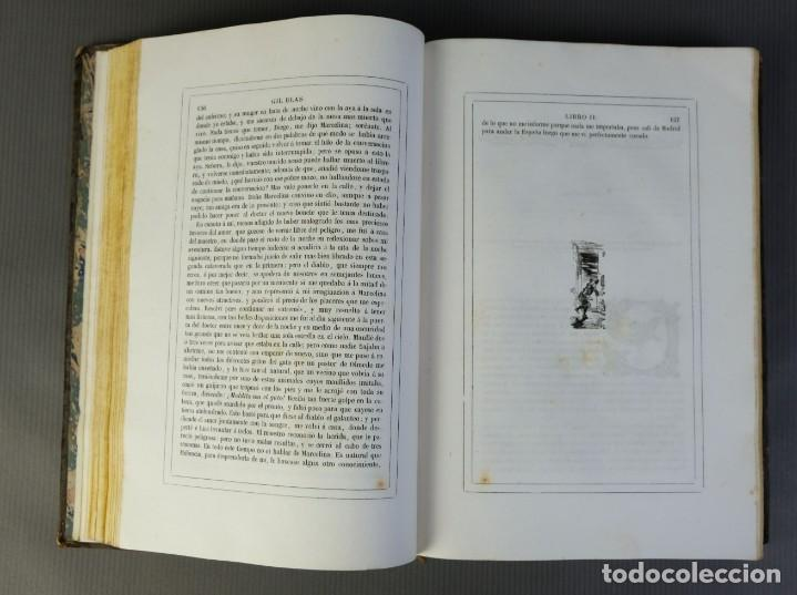 Libros antiguos: Historia de Gil Blas de Santillana-Le Sage-Imprenta Don Antonio Berges y compañía 1840 - Foto 11 - 209971305