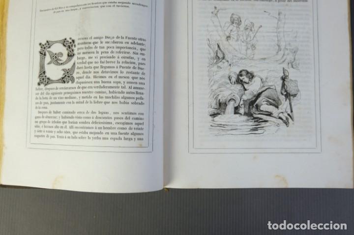 Libros antiguos: Historia de Gil Blas de Santillana-Le Sage-Imprenta Don Antonio Berges y compañía 1840 - Foto 12 - 209971305