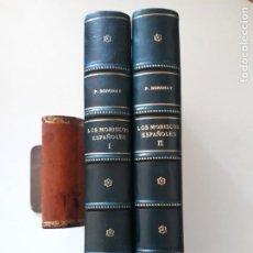 Libros antiguos: LOS MORISCOS ESPAÑOLES Y SU EXPULSIÓN. ESTUDIO HISTÓRICO-CRÍTICO. P. BORONAT Y BARRACHINA. 2 TOMOS.. Lote 209978503