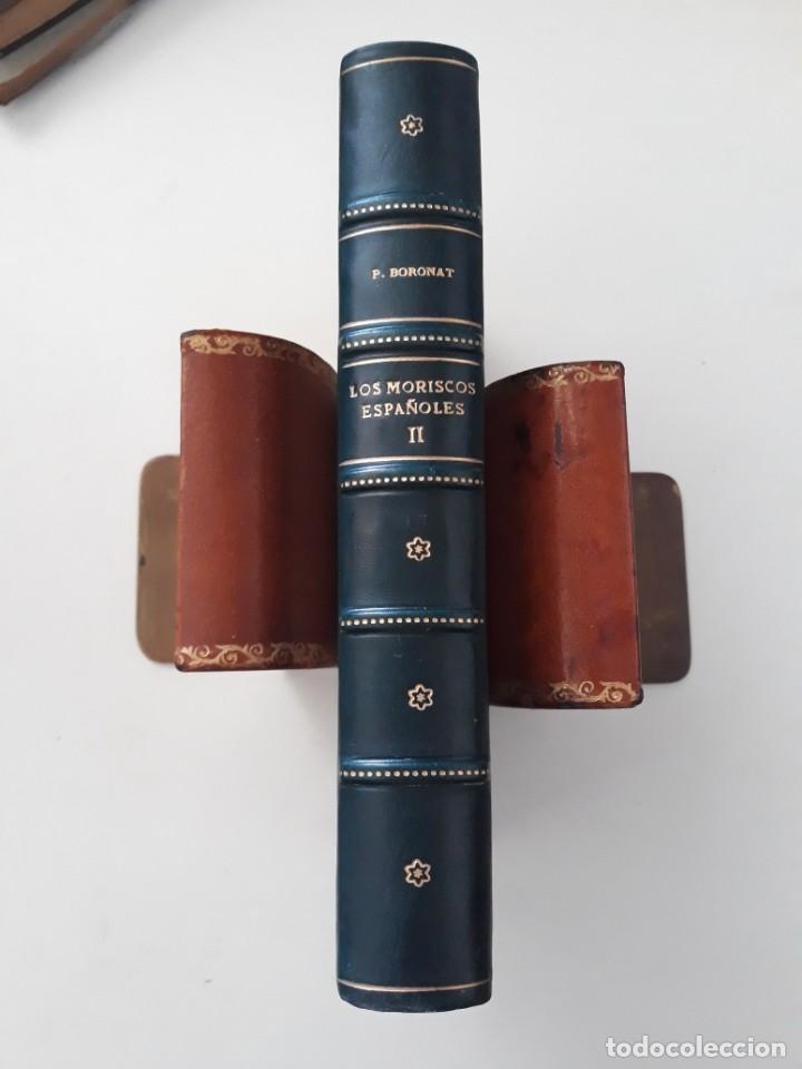 Libros antiguos: LOS MORISCOS ESPAÑOLES Y SU EXPULSIÓN. Estudio histórico-crítico. P. Boronat y Barrachina. 2 tomos. - Foto 8 - 209978503