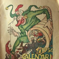 Libros antiguos: CALENDARI D´EN PATUFET. 1934. Lote 209996827