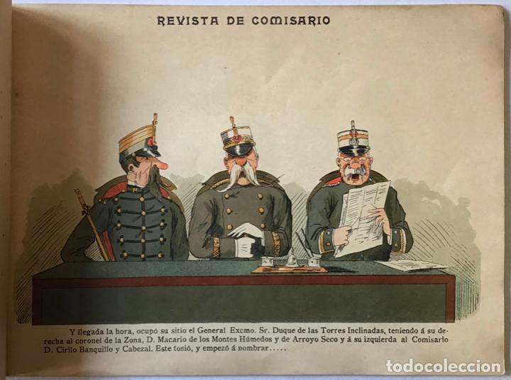 Libros antiguos: REVISTA DE COMISARIO. - FRADERA. - Foto 2 - 123190010