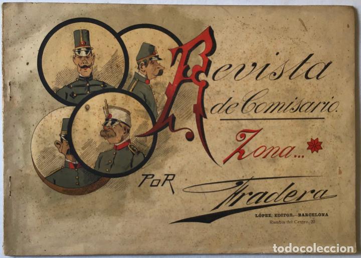 REVISTA DE COMISARIO. - FRADERA. (Libros Antiguos, Raros y Curiosos - Bellas artes, ocio y coleccionismo - Otros)