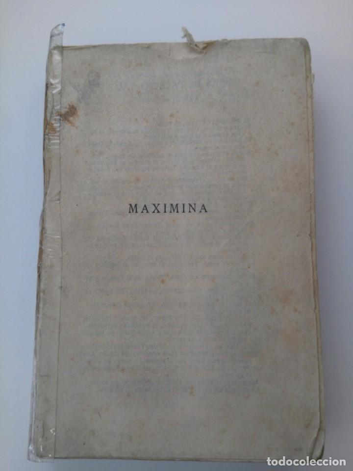 Libros antiguos: Maximina (segunda parte de Riverita) . Armando Palacio Valdés . 1922 - Foto 2 - 210090348
