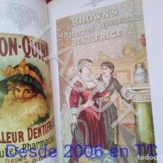 Livros antigos: TUBAL EL DENTISTA EN LA TARJETA POSTAL TEXTO FRANCÉS ODONTOLOGIA U31. Lote 210113625