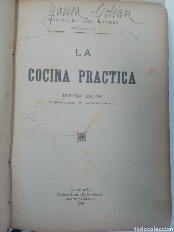 Libros antiguos: Antiguo libro de cocina, año 1910. - Foto 2 - 210162007