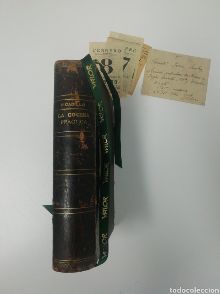 Libros antiguos: Antiguo libro de cocina, año 1910. - Foto 6 - 210162007