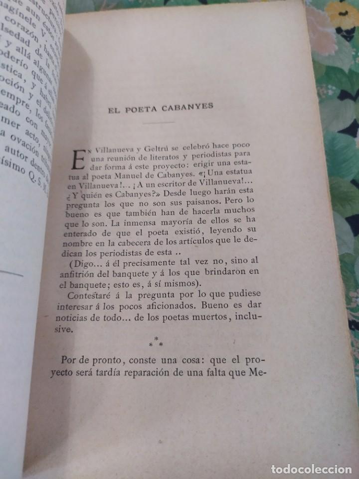 Libros antiguos: 1889. El año pasado. Letras y Artes en Barcelona. J Yxart. - Foto 4 - 210239497