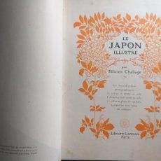 Libros antiguos: TITULO: LE JAPON ILLUSTRÉ. CHALLAYE (FÉLICIEN) PARIS, LAROUSSE, 1915.. Lote 210259987