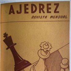 Libros antiguos: AJEDREZ. REVISTA MENSUAL. - [REVISTA.]. Lote 114799652