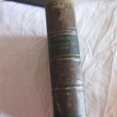 Libros antiguos: CURSO DE MAQUINAS DE VAPOR. GUSTAVO FERNANDEZ Y RODRIGUEZ. IMP DE FORTANET 1883.. Lote 210310768