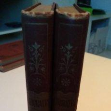 Libros antiguos: ISÓCRATES ORACIONES POLÍTICAS Y FORENSES 1891 ANTONIO RANZ ROMANILLOS TOMOS I Y II. Lote 210330590