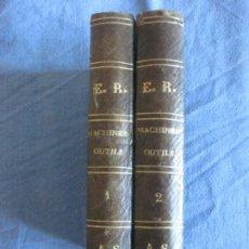 Libros antiguos: MANUELS - RORET. NOUVEAU MANUEL COMPLET MACHINES - OUTILS TRAVAIL DES METAUX. M.J. CHRETIES.. Lote 210474585