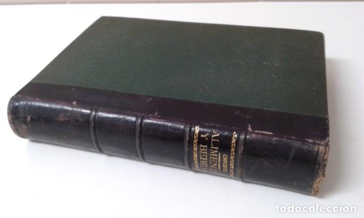 Libros antiguos: ALIMENTOS Y BEBIDAS CHICOTE BEBIDAS ADULTERADAS 1897 MUY RARO - Foto 2 - 210613948