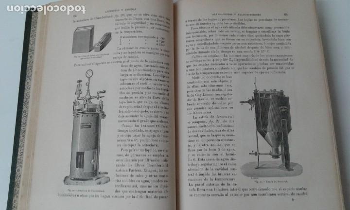 Libros antiguos: ALIMENTOS Y BEBIDAS CHICOTE BEBIDAS ADULTERADAS 1897 MUY RARO - Foto 5 - 210613948