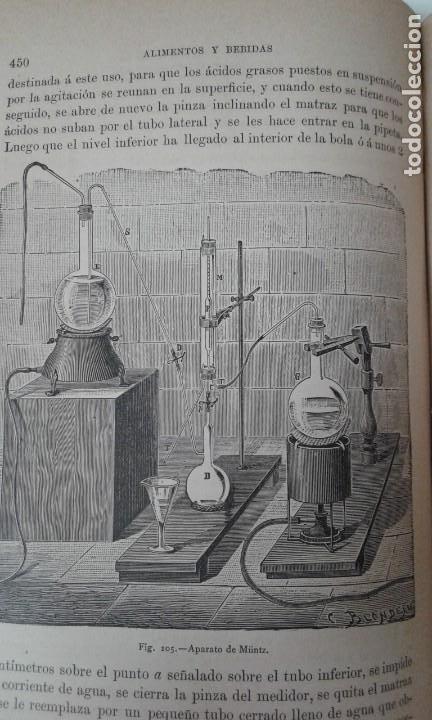Libros antiguos: ALIMENTOS Y BEBIDAS CHICOTE BEBIDAS ADULTERADAS 1897 MUY RARO - Foto 7 - 210613948