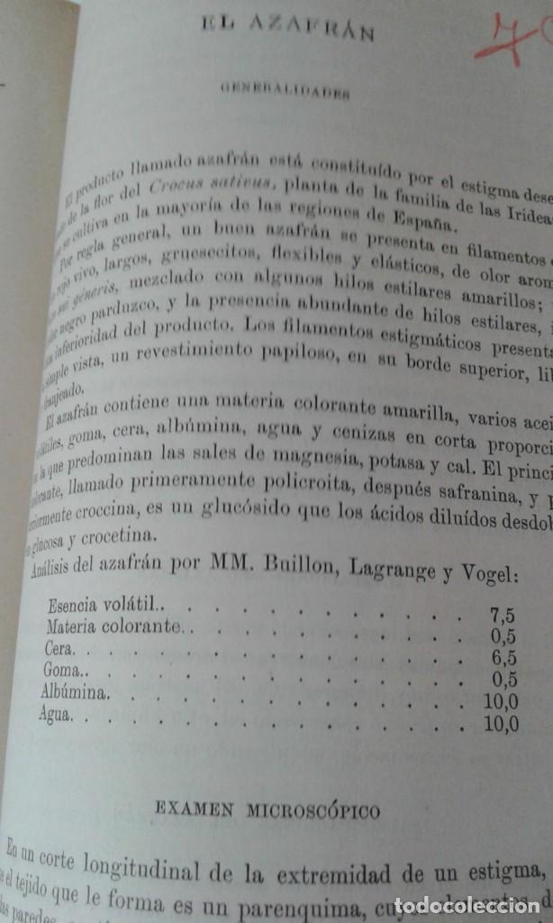 Libros antiguos: ALIMENTOS Y BEBIDAS CHICOTE BEBIDAS ADULTERADAS 1897 MUY RARO - Foto 10 - 210613948