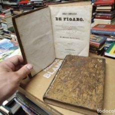 Libros antiguos: OBRAS COMPLETAS DE FÍGARO . 2 TOMOS . D. MARIANO JOSÉ DE LARRA . BARCELONA. 1857 . UNA JOYA!!!. Lote 210614946