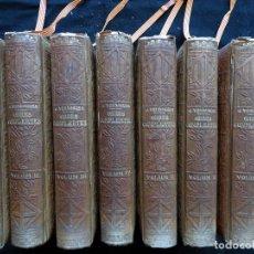 Libros antiguos: OBRES COMPLERTES DE MOSSEN JACINTO VERDAGUER. 7 TOMOS. 1905 - 1908. Lote 210681940