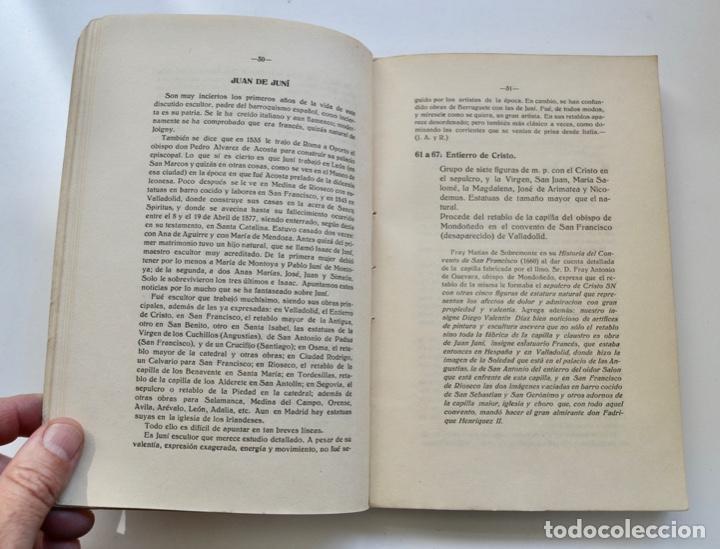 Libros antiguos: Museo Provincial de Bellas Artes de Valladolid. Catálogo de la Sección de Escultura. 1916 - Foto 6 - 210755324