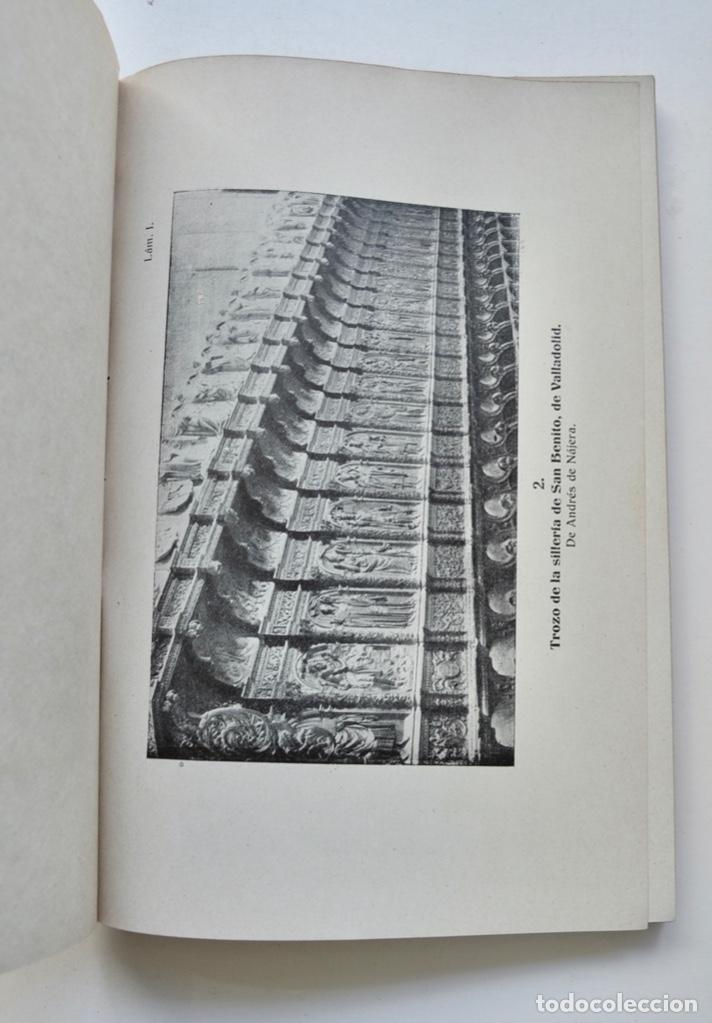 Libros antiguos: Museo Provincial de Bellas Artes de Valladolid. Catálogo de la Sección de Escultura. 1916 - Foto 9 - 210755324