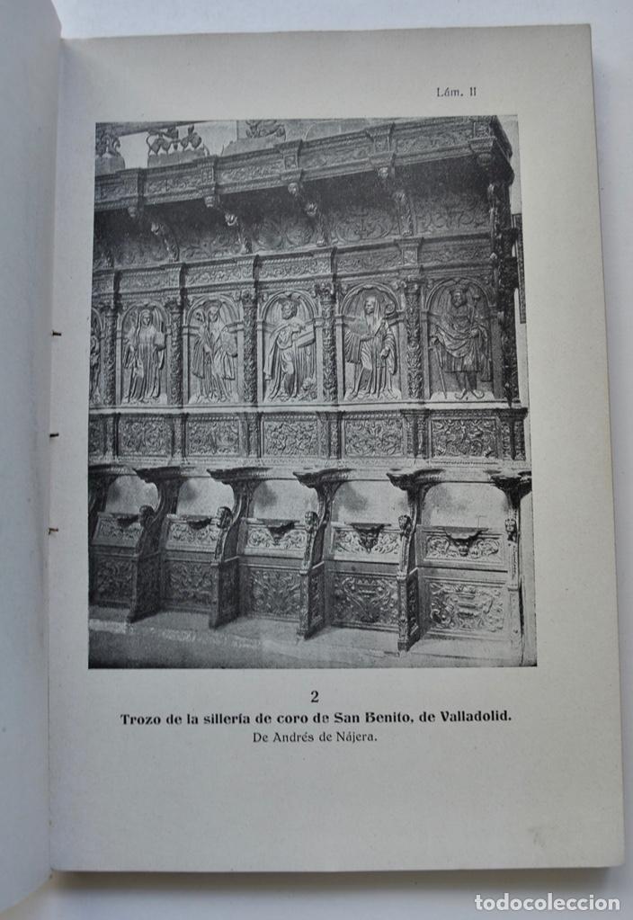 Libros antiguos: Museo Provincial de Bellas Artes de Valladolid. Catálogo de la Sección de Escultura. 1916 - Foto 10 - 210755324
