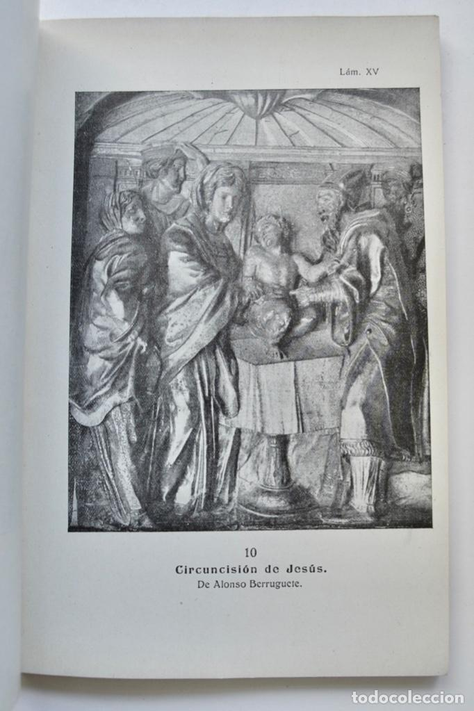 Libros antiguos: Museo Provincial de Bellas Artes de Valladolid. Catálogo de la Sección de Escultura. 1916 - Foto 11 - 210755324
