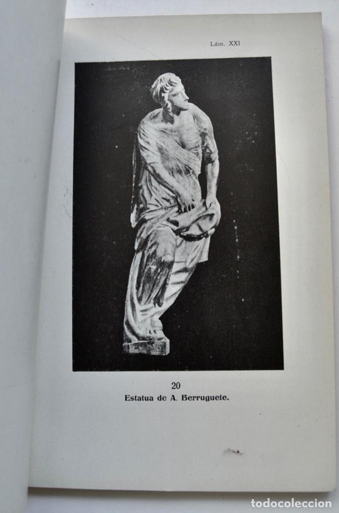 Libros antiguos: Museo Provincial de Bellas Artes de Valladolid. Catálogo de la Sección de Escultura. 1916 - Foto 12 - 210755324