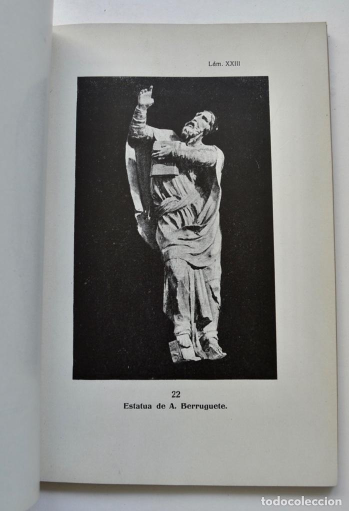 Libros antiguos: Museo Provincial de Bellas Artes de Valladolid. Catálogo de la Sección de Escultura. 1916 - Foto 13 - 210755324