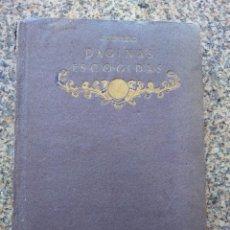 Libros antiguos: PAGINAS ESCOGIDAS - QUEVEDO -- SELECCION, PROLOGO DE ALFONSO REYES -- CALLEJA 1917 --. Lote 210766757