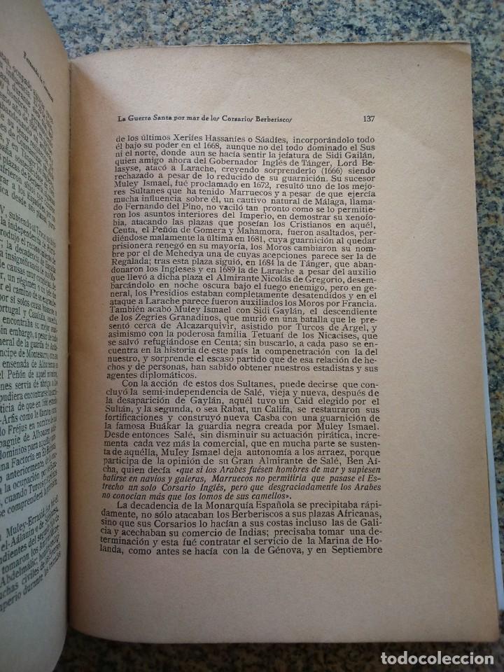 Libros antiguos: LA GUERRA SANTA POR MAR DE LOS CORSARIOS BERBERISCOS -- FERNANDO DE CARRRANZA -- - Foto 3 - 210816814