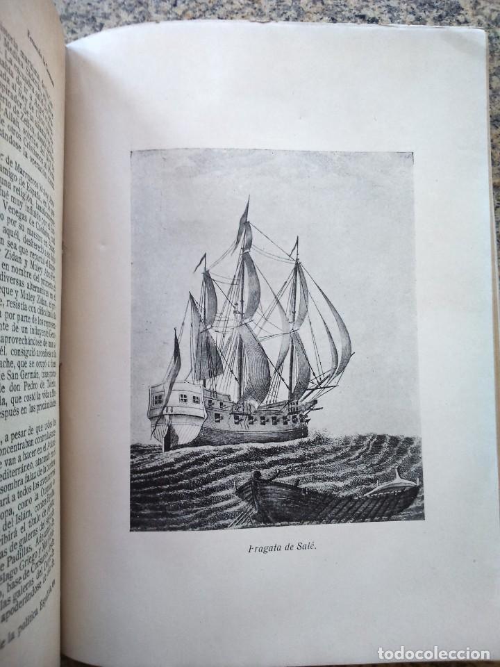 Libros antiguos: LA GUERRA SANTA POR MAR DE LOS CORSARIOS BERBERISCOS -- FERNANDO DE CARRRANZA -- - Foto 4 - 210816814