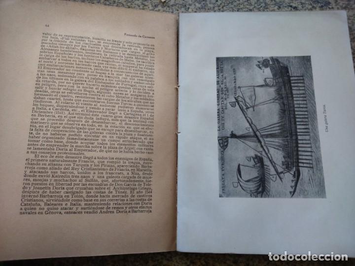 Libros antiguos: LA GUERRA SANTA POR MAR DE LOS CORSARIOS BERBERISCOS -- FERNANDO DE CARRRANZA -- - Foto 5 - 210816814