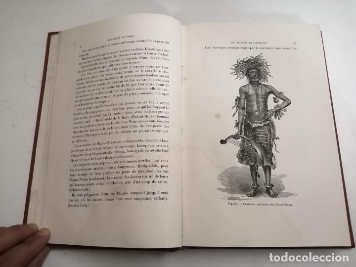 Libros antiguos: Les Races Sauvages. Alphonse Bertillon. 1882 París. Ed.: G. Masson. Bibliothèque dela Nature. - Foto 5 - 210947412