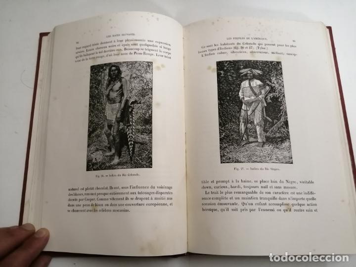 Libros antiguos: Les Races Sauvages. Alphonse Bertillon. 1882 París. Ed.: G. Masson. Bibliothèque dela Nature. - Foto 6 - 210947412