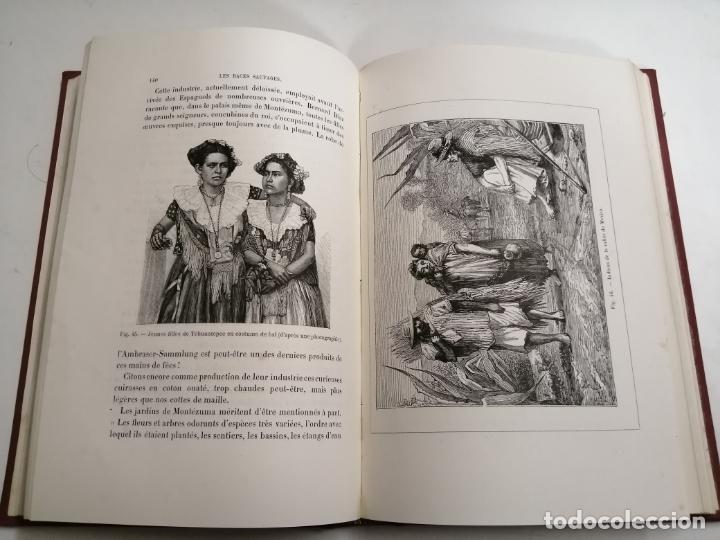 Libros antiguos: Les Races Sauvages. Alphonse Bertillon. 1882 París. Ed.: G. Masson. Bibliothèque dela Nature. - Foto 7 - 210947412