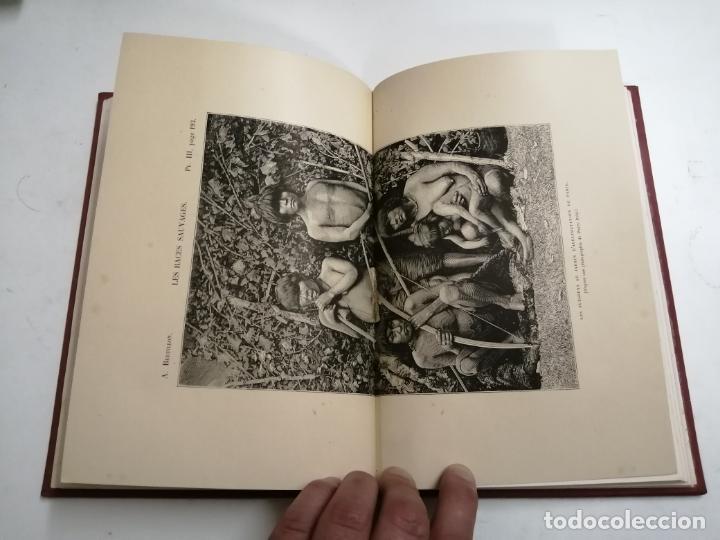 Libros antiguos: Les Races Sauvages. Alphonse Bertillon. 1882 París. Ed.: G. Masson. Bibliothèque dela Nature. - Foto 8 - 210947412