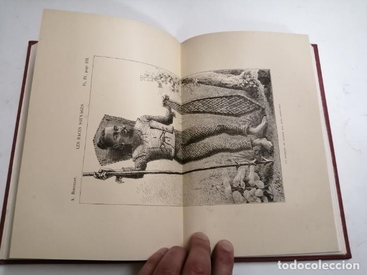 Libros antiguos: Les Races Sauvages. Alphonse Bertillon. 1882 París. Ed.: G. Masson. Bibliothèque dela Nature. - Foto 9 - 210947412