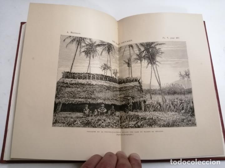 Libros antiguos: Les Races Sauvages. Alphonse Bertillon. 1882 París. Ed.: G. Masson. Bibliothèque dela Nature. - Foto 11 - 210947412
