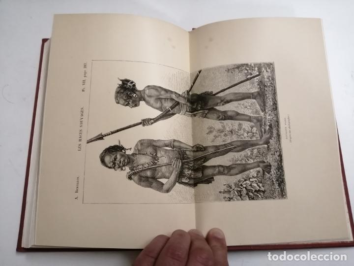 Libros antiguos: Les Races Sauvages. Alphonse Bertillon. 1882 París. Ed.: G. Masson. Bibliothèque dela Nature. - Foto 12 - 210947412