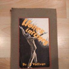 Libros antiguos: 'HORES ÍNTIMES'. DR. J. VALLVER. Lote 210951451